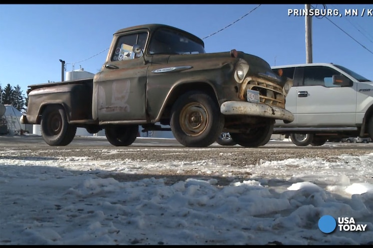 Video: Cheap 1957 Chevy Truck Still Rolling in Minnesota