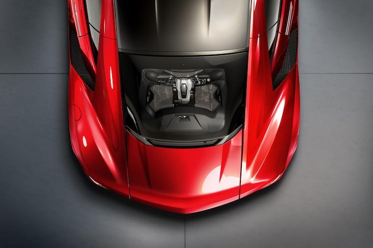 2016 Acura NSX Engine