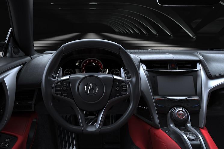 2016 Acura NSX Cockpit