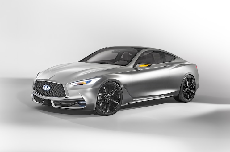 Infiniti Q60 Concept Front Three Quarter