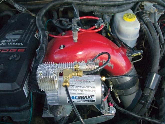 2006 Dodge Ram pacbrake Air Compressor