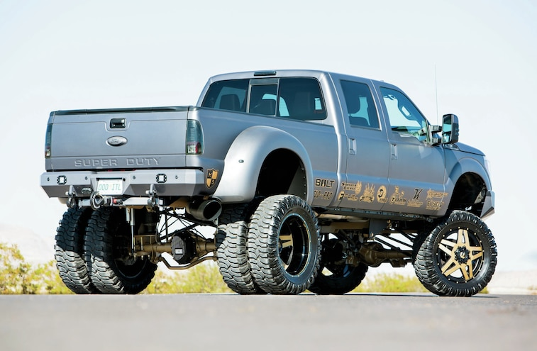 2013 Ford F 350 Rear Side View