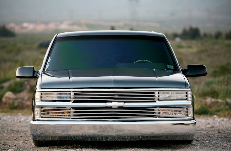 1993 Chevy Suburban Front View