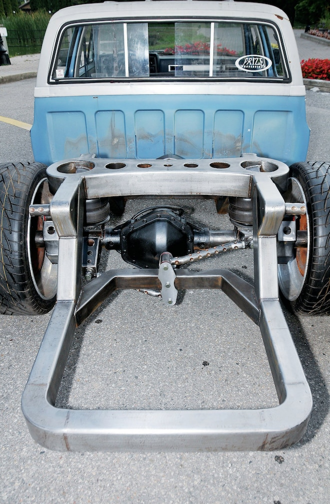 1985 Chevy Crew Cab Rear View