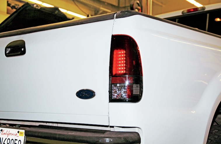 2004 Ford F 250 Taillights