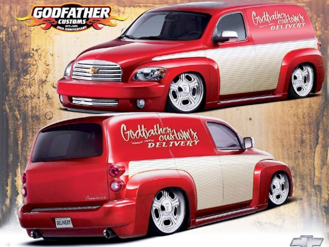 2008 Chevy Hhr Panel Custom Station Wagon