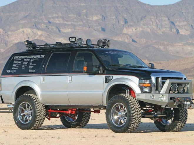 2000 Ford Excursion Custom right Side View