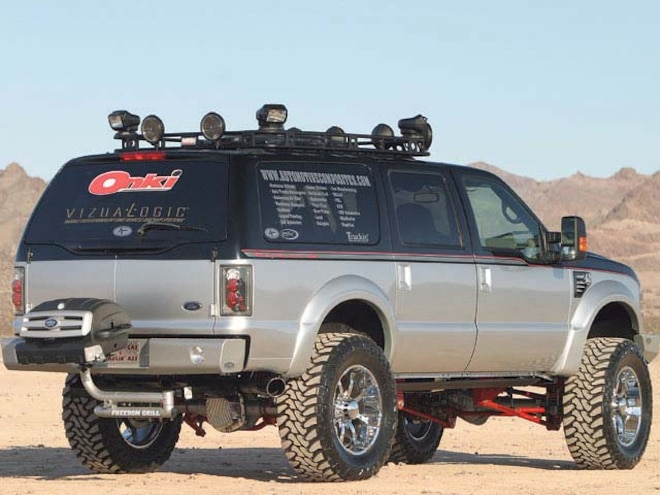 2000 Ford Excursion Custom rear Right Side View