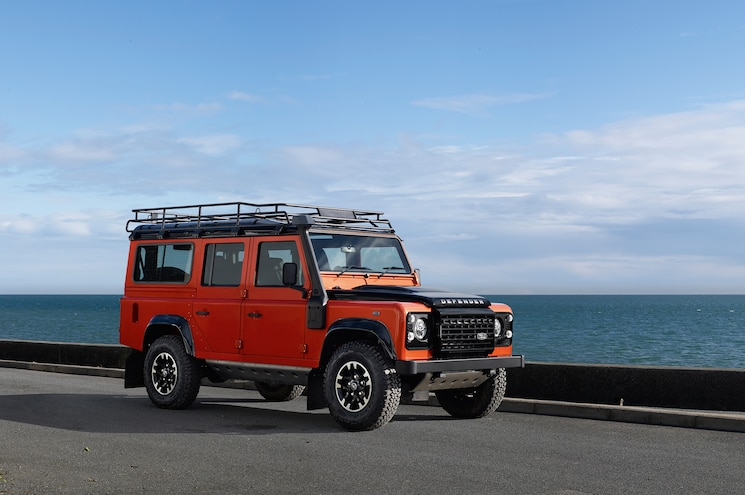 Land Rover Defender Adventure Limited Edition Front Three Quarter