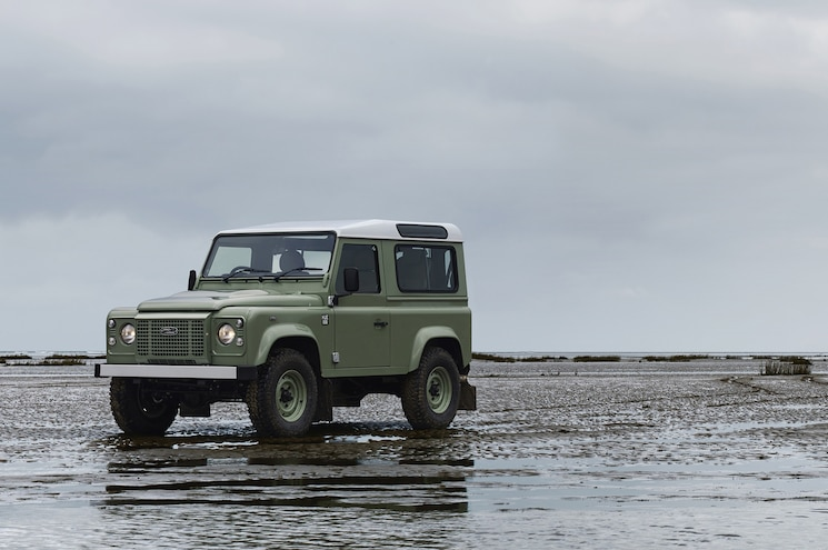 Land Rover Defender Heritage Edition Front Three Quarter