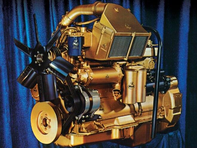 1973 Maxidyne 300 Series Mack Engine engine