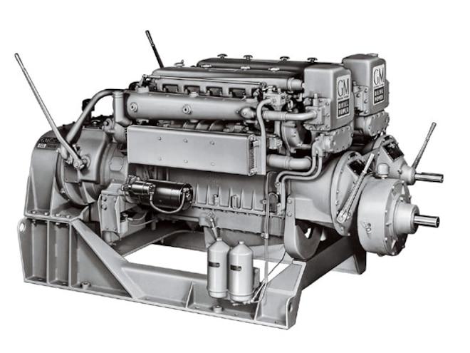 2007 February Gm Diesel Marine Power engine2