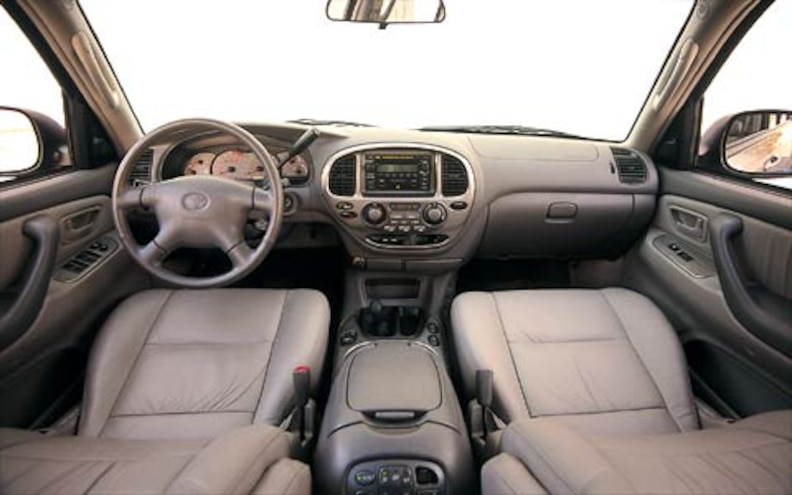 2001 toyota sequoia road test review truck trend truck trend