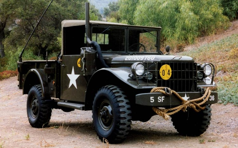1953 Dodge M 37 front View