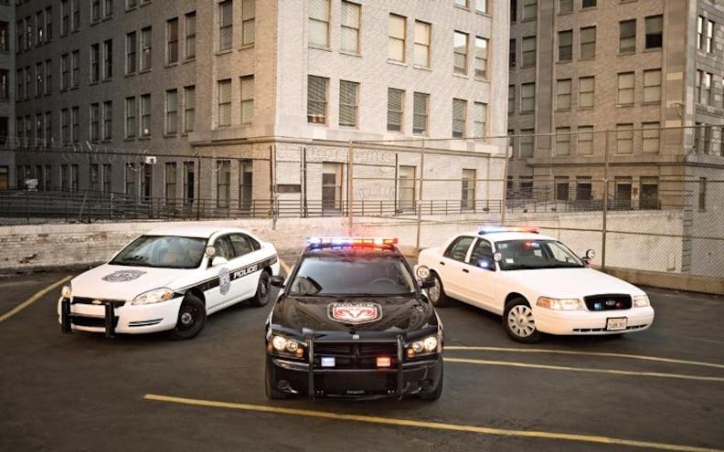 police Car Comparison front View