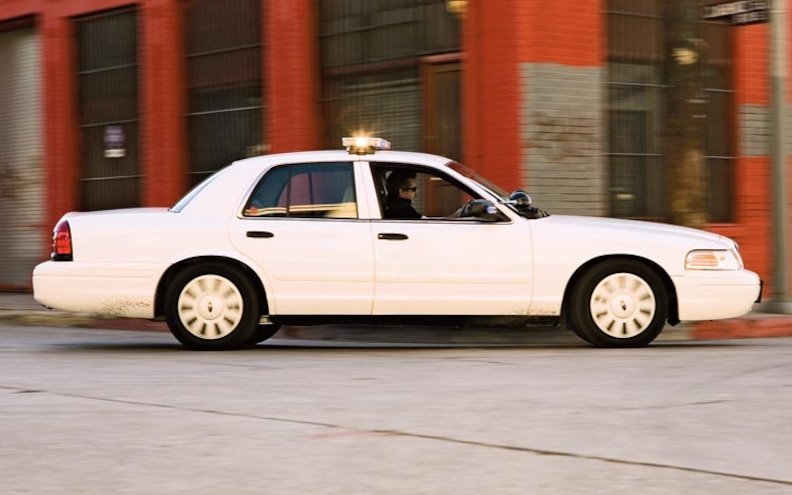 2007 Ford Crown Victoria Police Interceptor side View