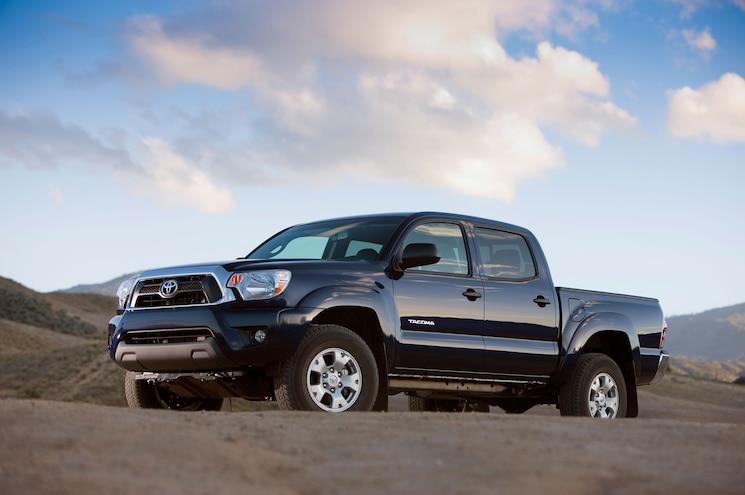 2015 Toyota Tacoma Side Profile