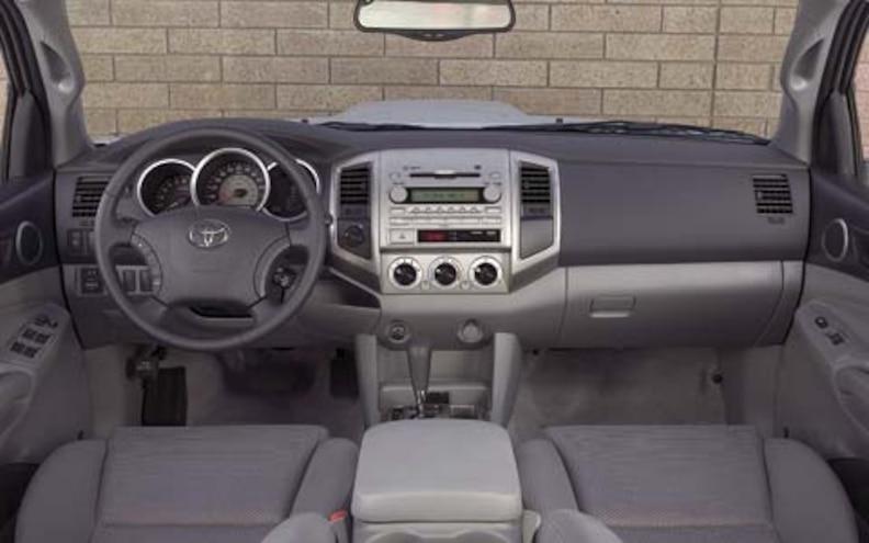 2005 Toyota Tacoma Pickup interior