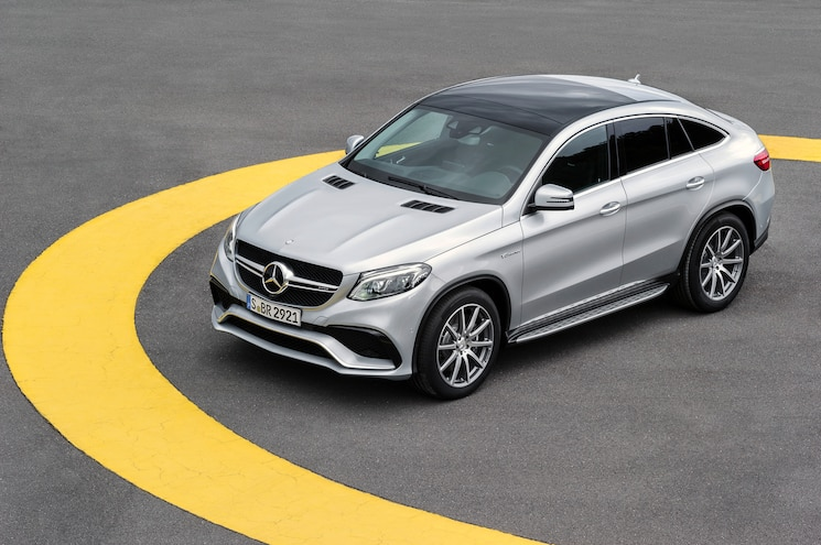 Mercedes-AMG GLE63 S Coupe First Look