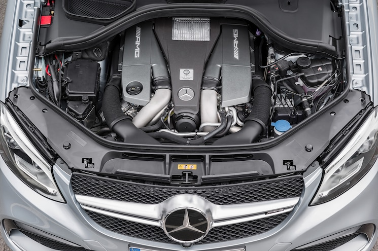 2016 Mercedes Benz GLE63 S AMG 4Matic Coupe Engine
