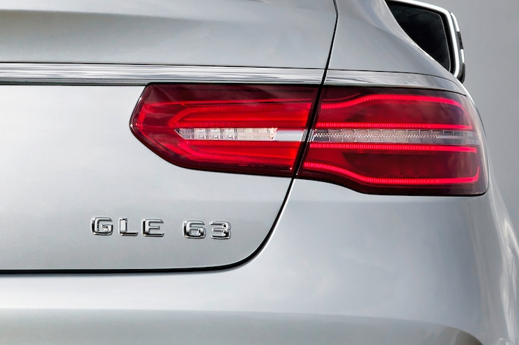 2016 Mercedes Benz GLE63 S AMG 4Matic Coupe Badge