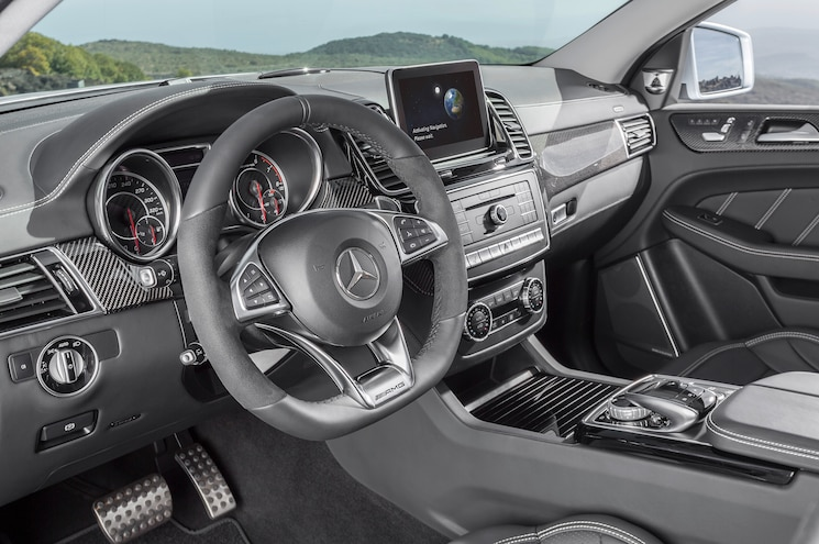 2016 Mercedes Benz GLE63 S AMG 4Matic Coupe Interior
