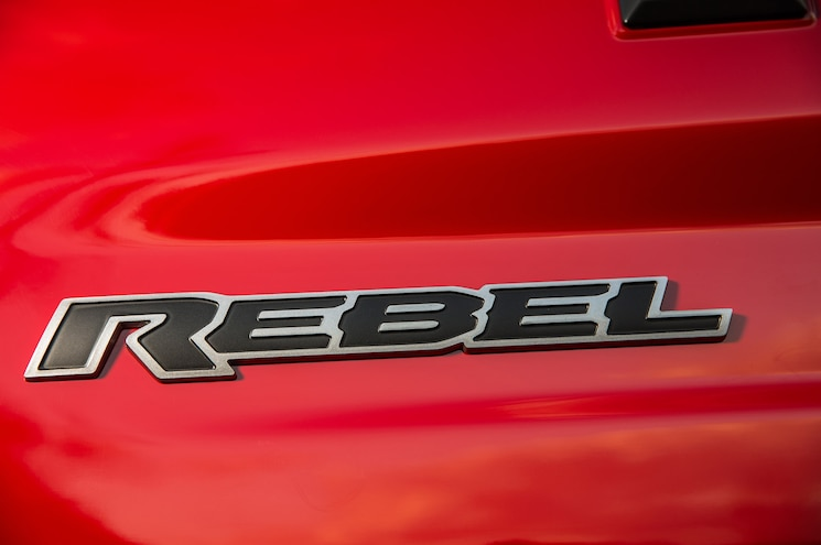 2015 Ram 1500 Rebel Rear Detail