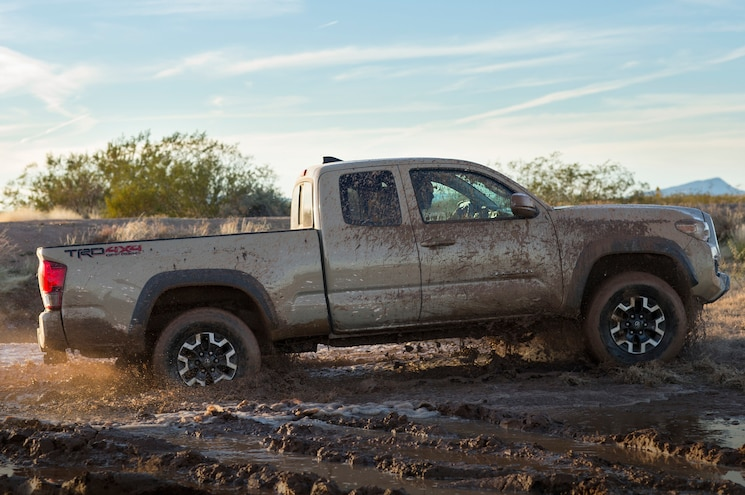 2016 Toyota Tacoma TRD Off Road With Mud