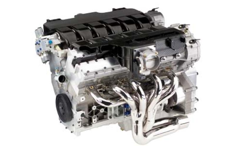 2003 Cadillac Escalade V12 Engine View