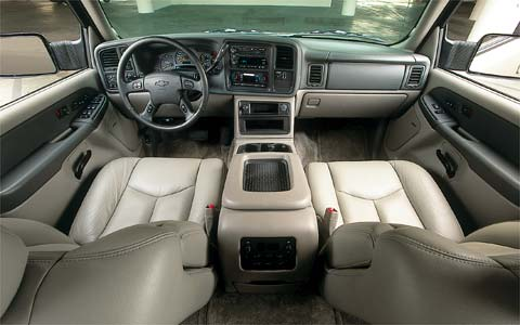 2003 Chevrolet Suburban 2500 Interior View Dashboard