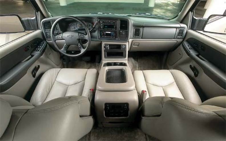2003 Chevrolet Suburban 2500 First Drive Road Test Review Truck Trend
