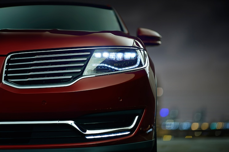 2016 Lincoln MKX Headlight