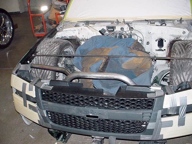 Chevy S-10 - Custom 2005 Chevy Colorado Front End Makeover