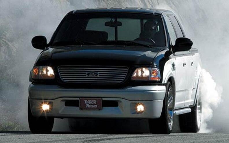 Truck Comparison: 2003 Chevrolet Silverado SS vs. Dodge 1500 SLT vs. Ford Harley-Davidson F-150