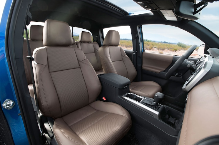 2016 Toyota Tacoma Limited Interior Seats