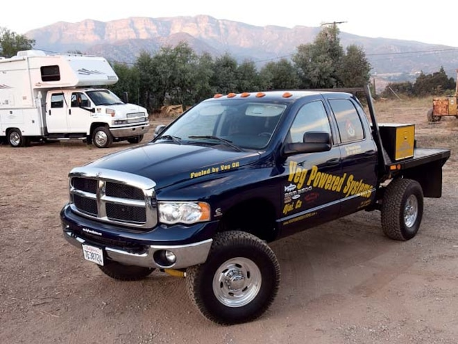 Dodge Ram Front Drivers Side View