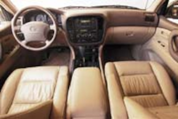 2000 Toyota Land Cruiser Price, Engine & Interior - Road