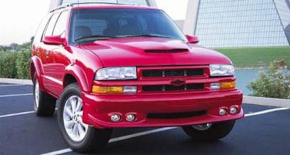 2002 chevrolet s 10 blazer supercharged performance test truck trend