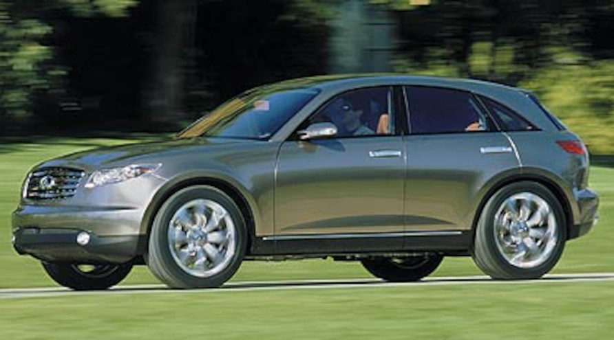 2003 Infiniti Fx45 First Drive Road Test Review Truck Trend