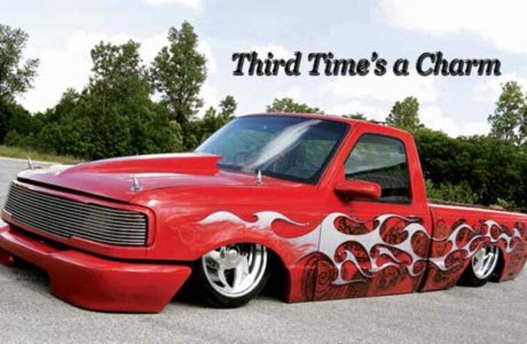 Custom 1993 Ford Ranger Truck - Third Time's a Charm