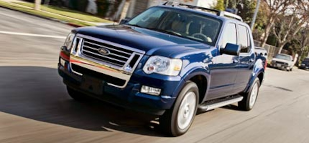 2007 Ford Explorer Sport Trac Road Test Truck Review Truck Trend