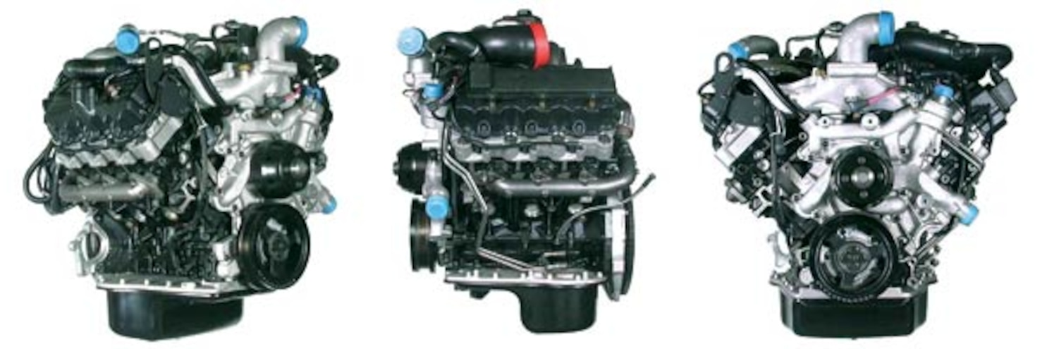 163 0602 02z Ford Baby Power Stroke Engine