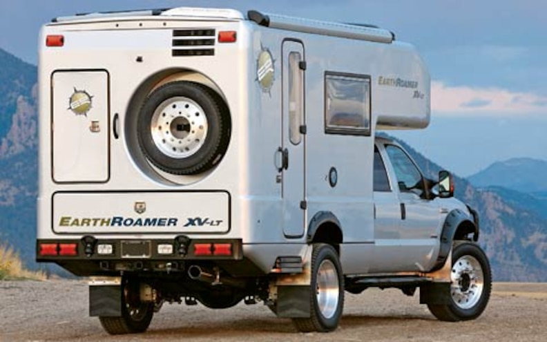 earthRoamer XV LT Crew Cab rear View