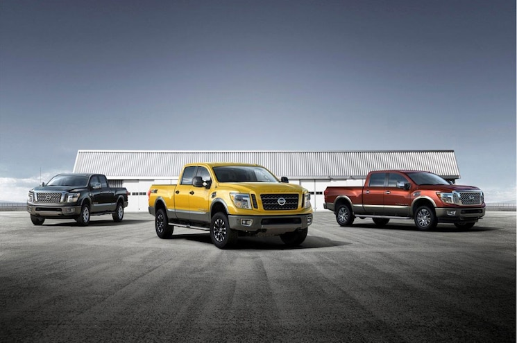 2016 Nissan Titan Xd Group Shot Lo