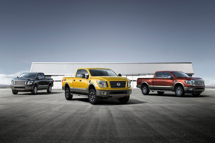2016 Nissan Titan Xd Group Photo