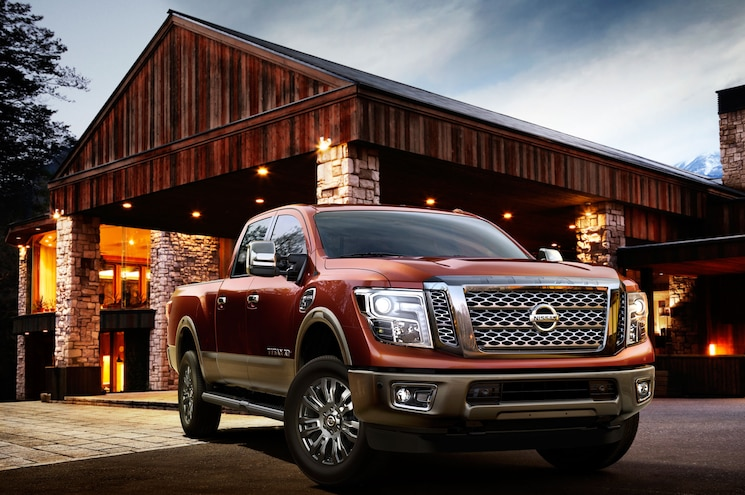 2016 Nissan Titan XD First Look
