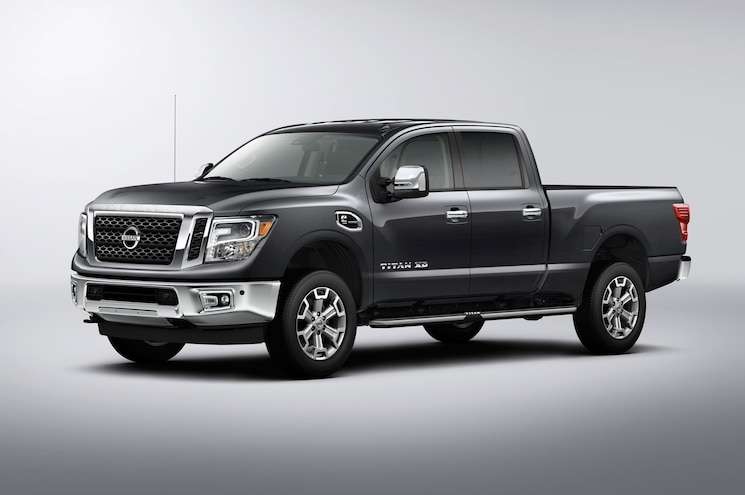 2016 Nissan Titan Xd Sl Left Front Angle