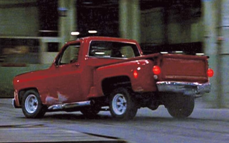 The Driver chevy Shortbed Truck