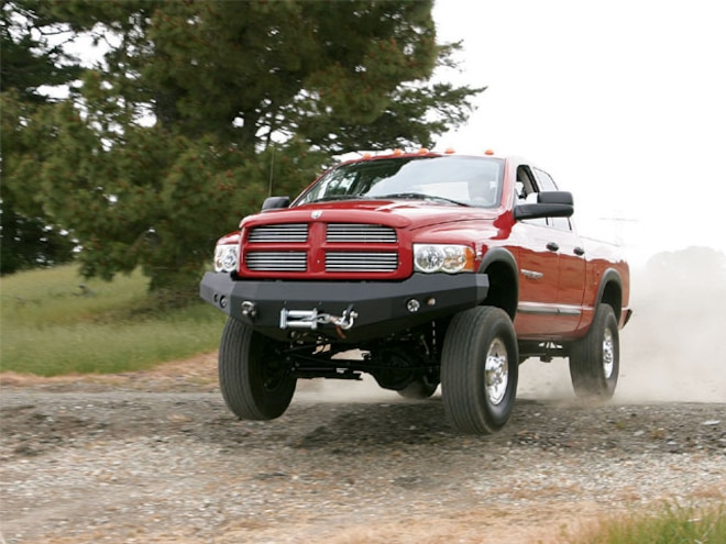 2005 Dodge Ram Cummins 2500 Power Wagon 4x4 in Action