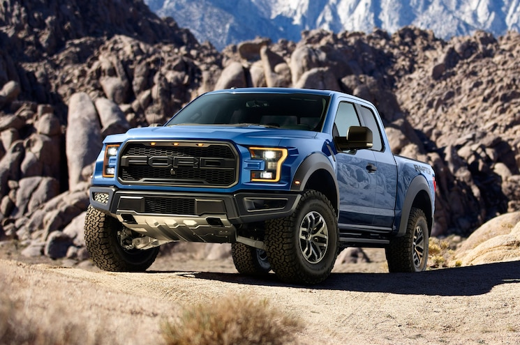 2017 Ford F-150 Raptor Features Ten-Speed Trans, HO EcoBoost
